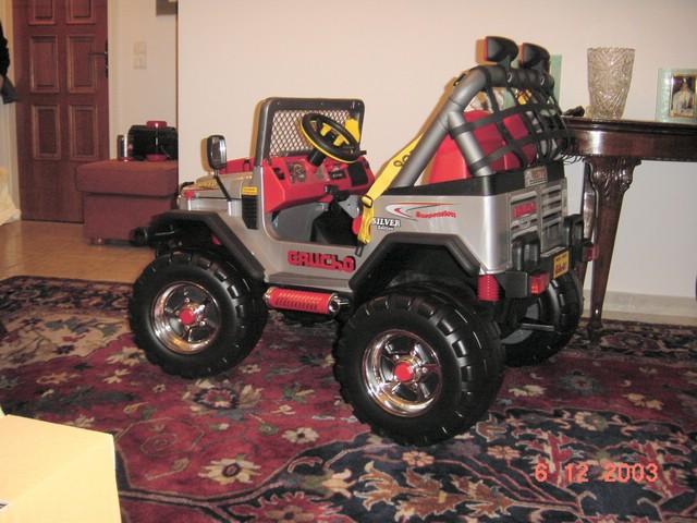 Peg Perego Gaucho Jeep Battery : Peg perego jeep gaucho silver edition